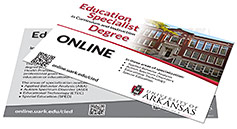 "Education Specialist in Curriculum & Instruction 4"" x 6"" Program Card"