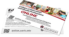 "College of Education & Health Professions 4"" x 6"" Program Card"