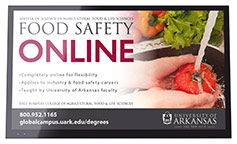 Food Safety - Airport Digital Display XNA, LIT, TUL, DFW