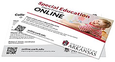 "Special Education 4"" x 6"" Program Card"