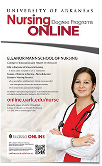 "Nursing Poster with Tear-off Information 10"" x 16.5"" Poster"