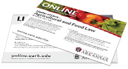 Master of Laws in Agricultural and Food Law