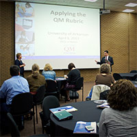 Faculty attend Quality Matters workshop